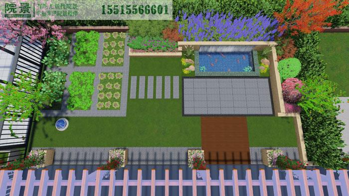 亚太明珠洋房花园设计案例