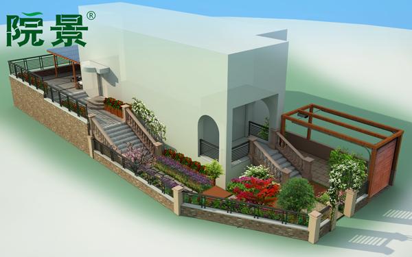 清华大溪地别墅庭院设计