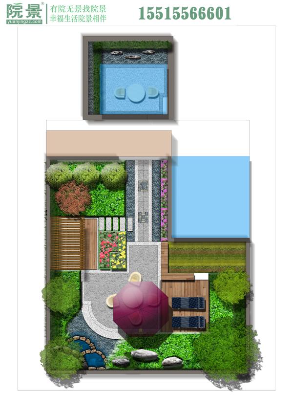 郑州万科天伦紫台花园设计案例