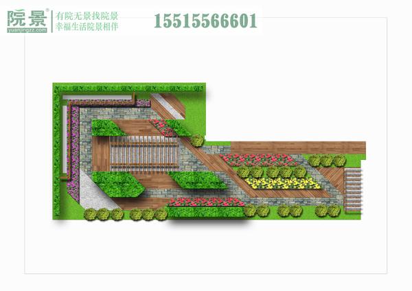 新郑市公安局屋顶花园设计
