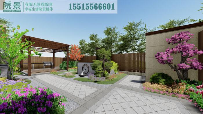 国投玖栋别墅花园设计案例